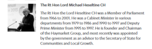 Heseltine Infrastructure Commission