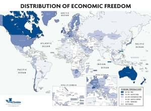 economic-freedom-index-world-2010_map
