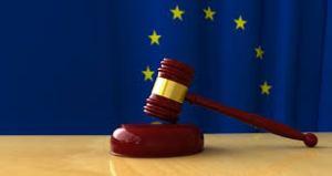 EU legal gavel
