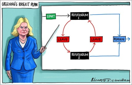 Justine Greening's 2nd referendum plan
