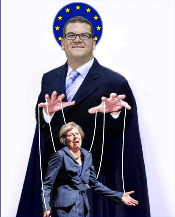 Theresa's Puppet-Master Olly Robbins