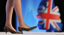 May's leopard-print kitten-heels 2002