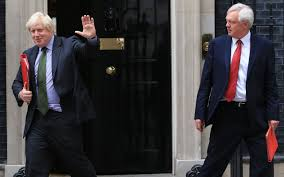 Johnson, Davis resign from Cabinet post Chequers