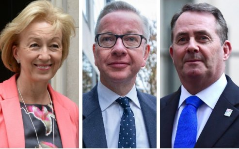 Leadson, Gove, Fox, 3 of the Fatuous Five