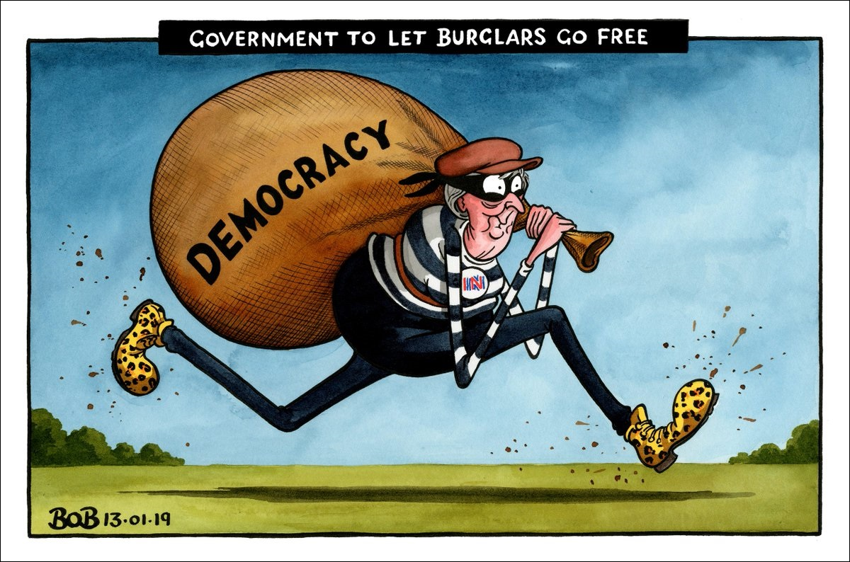 may the burglar makes off with british democracy