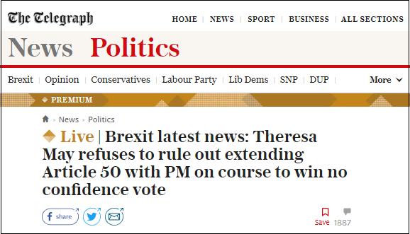 tgraph headline 16-jan-2019 confidence vote