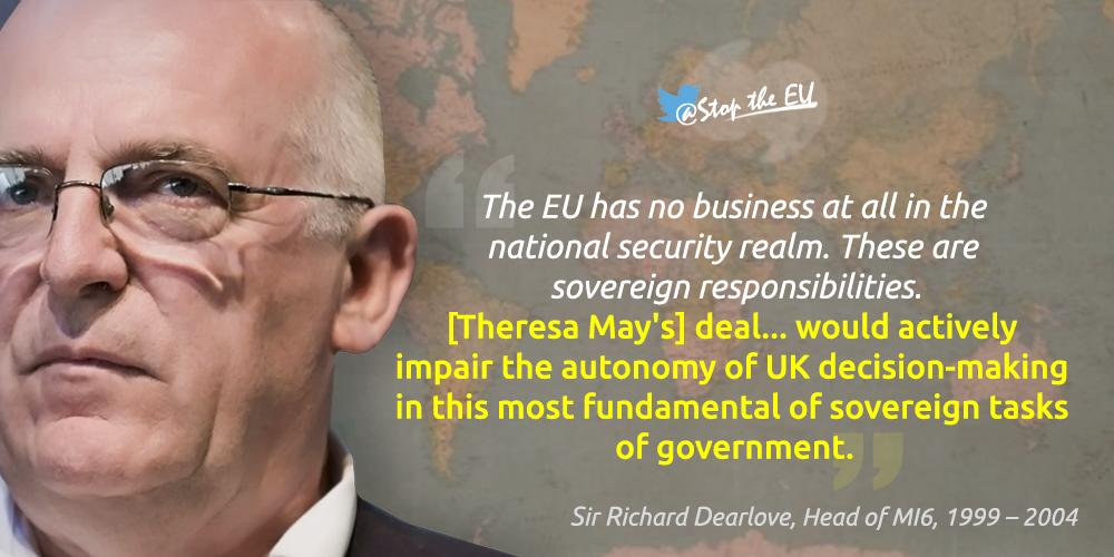 Dearlove EU has no business in UK national security realm