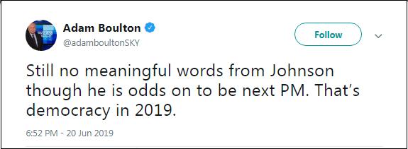 2019.06.20 Boulton on Boris PM