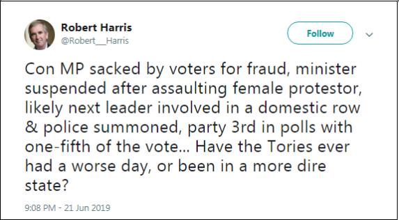 2019.06.21 Harris re Boris PM