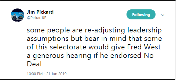 2019.06.21 Pickard FT re Boris PM 1