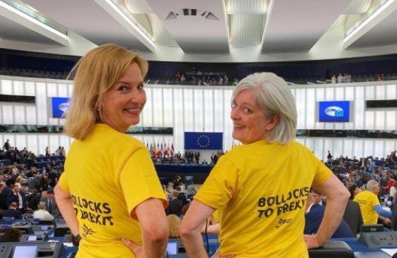 Bollocks to Brexit EU Parliament