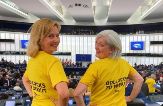 Bollocks to Brexit EU Parliament
