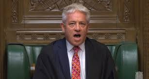 Self-aggrandising Bercow