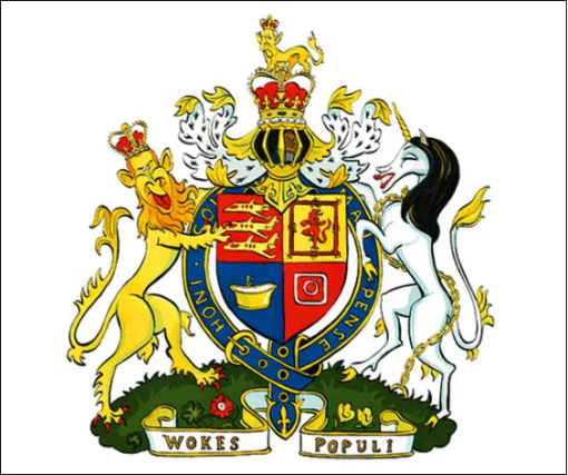 'Wokes Populi' coat-of-arms